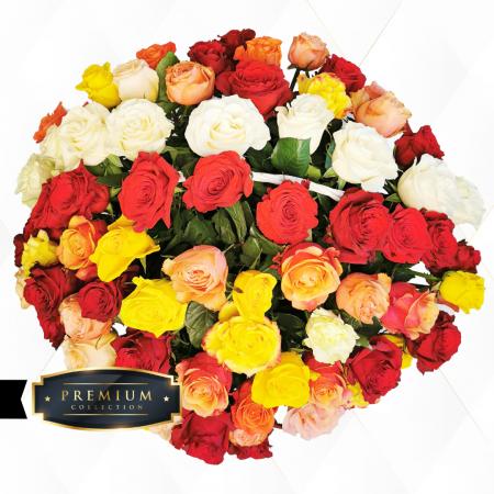 Aranjament premium trandafiri Roman [2]