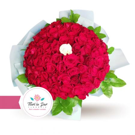 Buchet 81 trandafiri [0]
