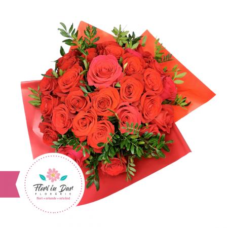 Buchet trandafiri rosii [1]