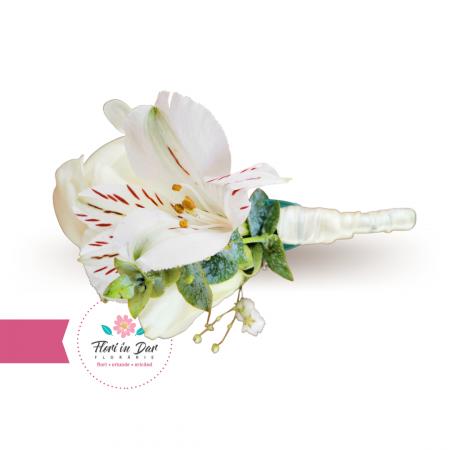 Cocarde nunta flori naturale florarie Roman [3]