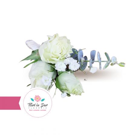 Cocarde nunta flori naturale florarie Roman [1]