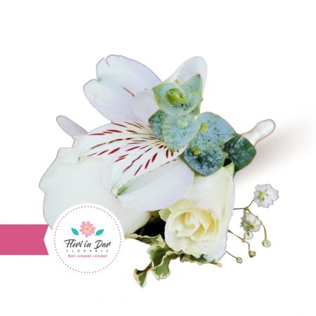 Cocarde nunta flori naturale florarie Roman [2]