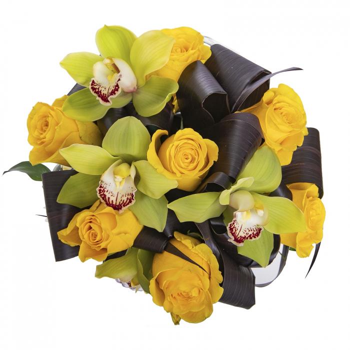 Aranjament floral in cutie [1]