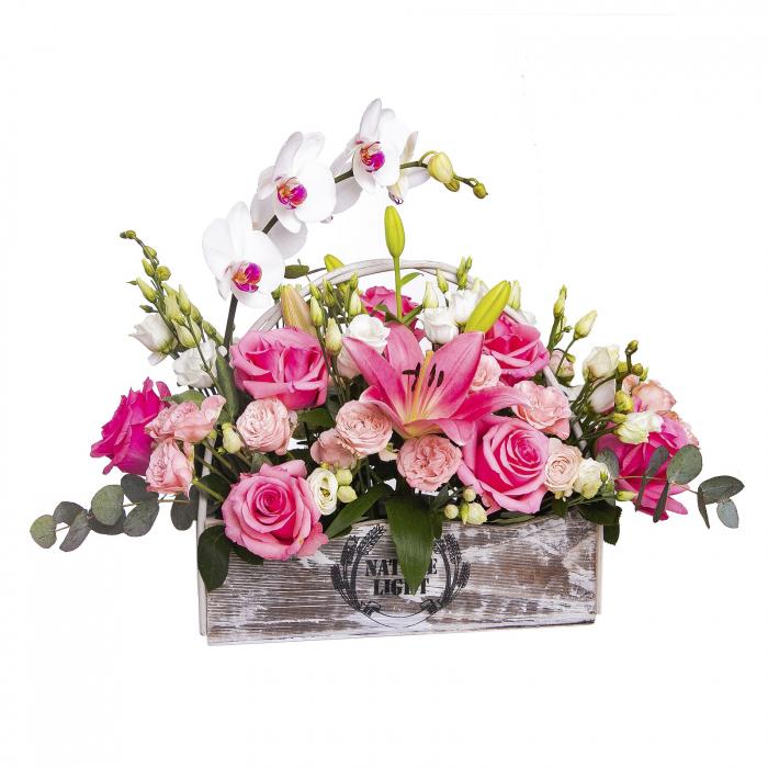 Aranjament floral in ladita [0]
