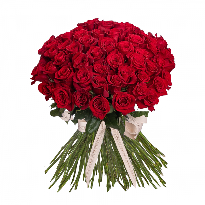 Buchet 101 Trandafiri Rosii [0]