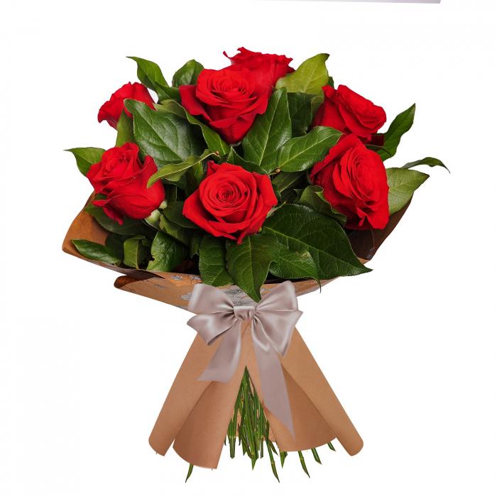 Buchet 7 trandafiri rosii [0]