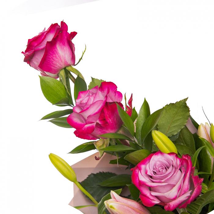 Buchet crini si trandafiri [1]