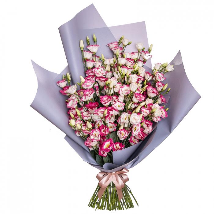 Buchet lisianthus roz [0]