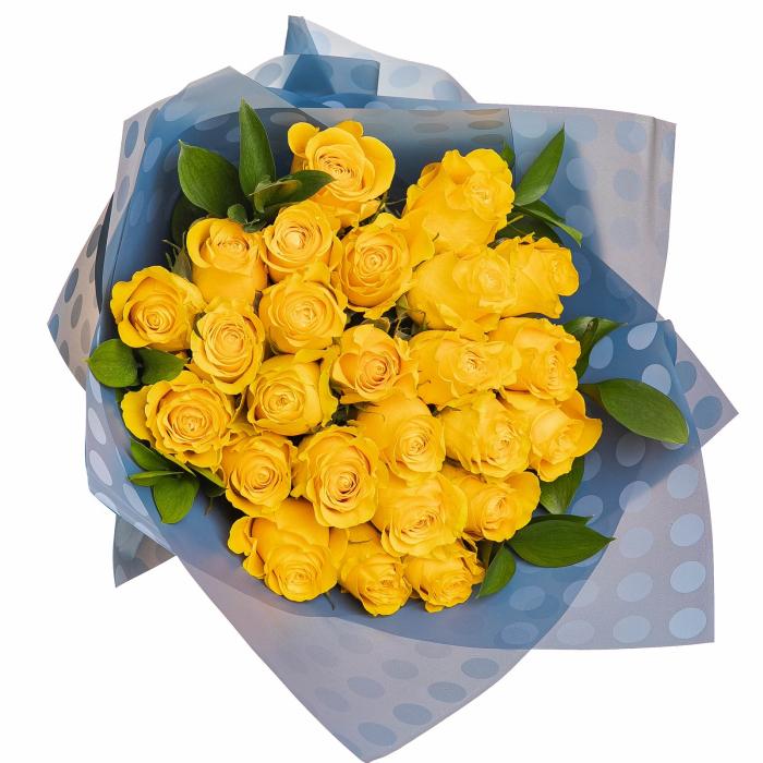 Buchet trandafiri galbeni [1]