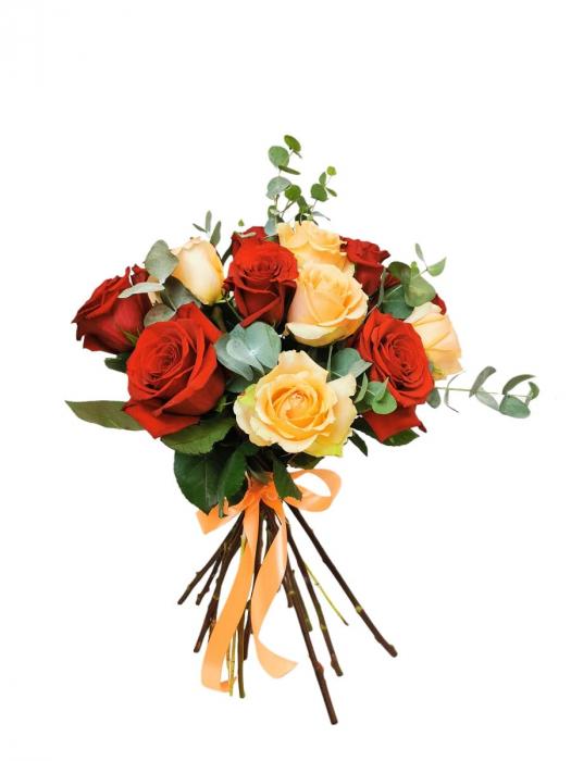 Buchet trandafiri color [0]