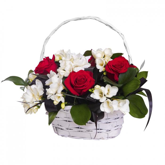 Cosulet cu frezi si trandafiri [0]