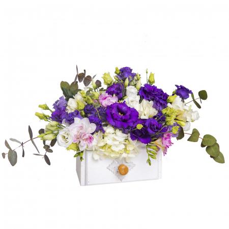 Aranjament cu flori in ladita [0]