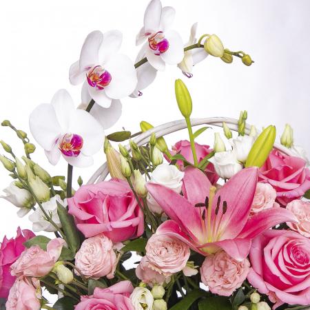 Aranjament floral in ladita [1]