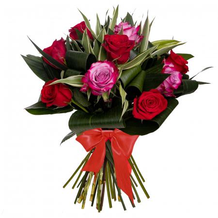 Buchet cu trandafiri mix [0]