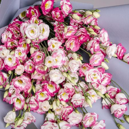 Buchet lisianthus roz [1]