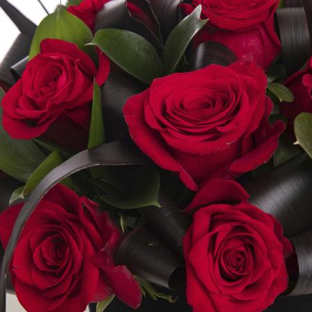 Cutie cu 17 trandafiri rosii [1]