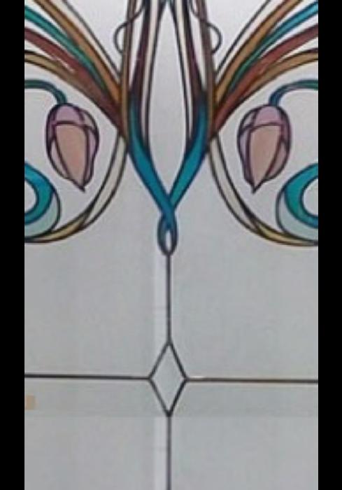 Geam Decorativ Usa Interioara Model AIR 1