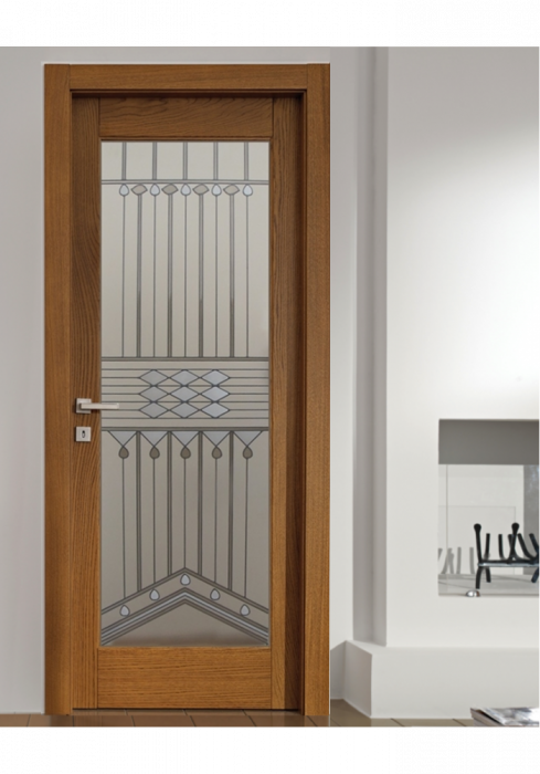 Geam Decorativ Usa Interioara Model ART DECO [0]
