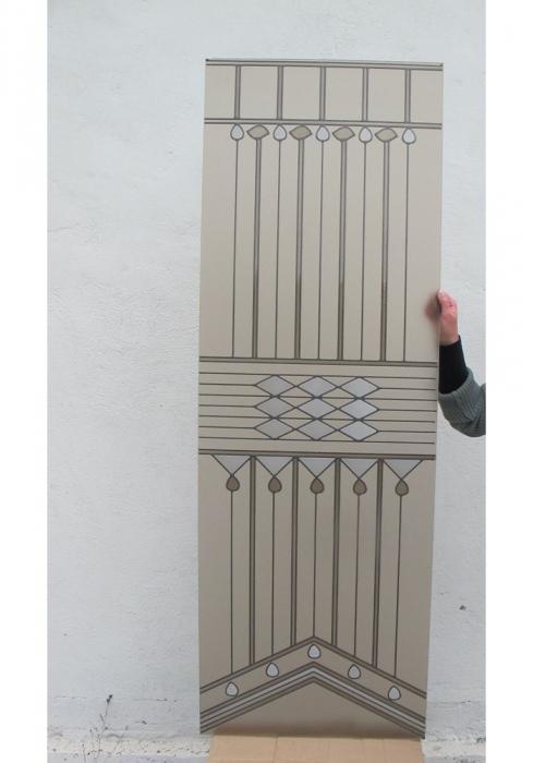 Geam Decorativ Usa Interioara Model ART DECO [4]