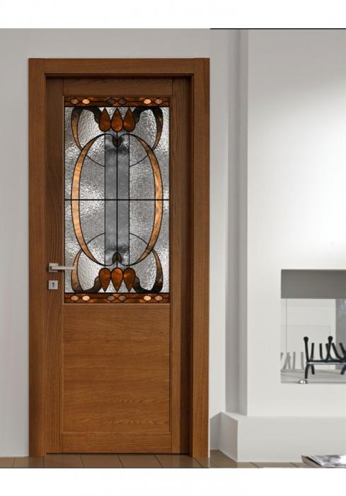 Geam Decorativ Usa Interioara Model Barcelona 0