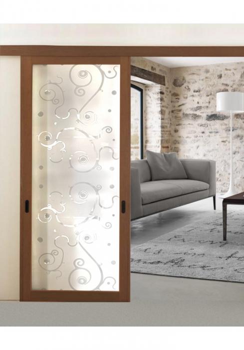 Geam Decorativ Usa Interioara Model BEVELS 0