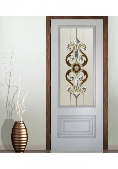 Geam Decorativ Usa Interioara Model CRISTAL 11 [0]