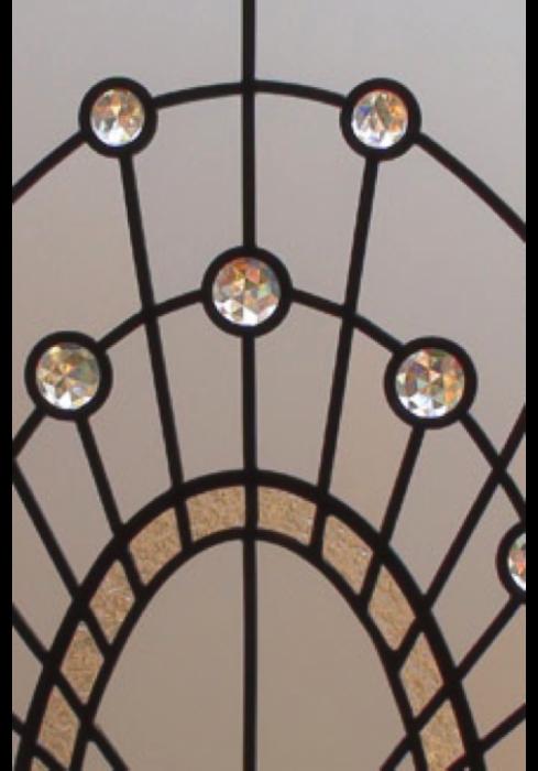 Geam Decorativ Usa Interioara Model CRISTAL 16 [2]