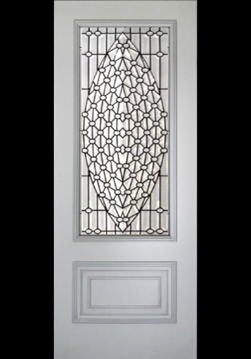 Geam Decorativ Usa Interioara Model CRISTAL 17 [1]