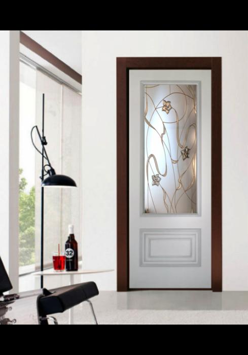 Geam Decorativ Usa Interioara Model CRISTAL 20 [0]