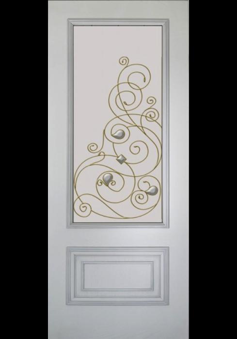 Geam Decorativ Usa Interioara Model CRISTAL 21 [1]