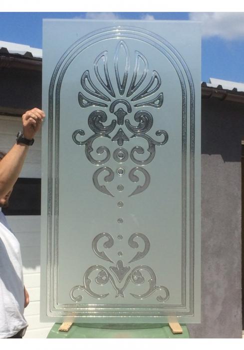 Geam Decorativ Usa Interioara Model CROWN [1]