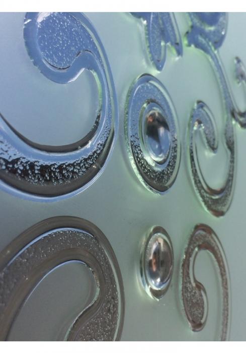 Geam Decorativ Usa Interioara Model CROWN [2]