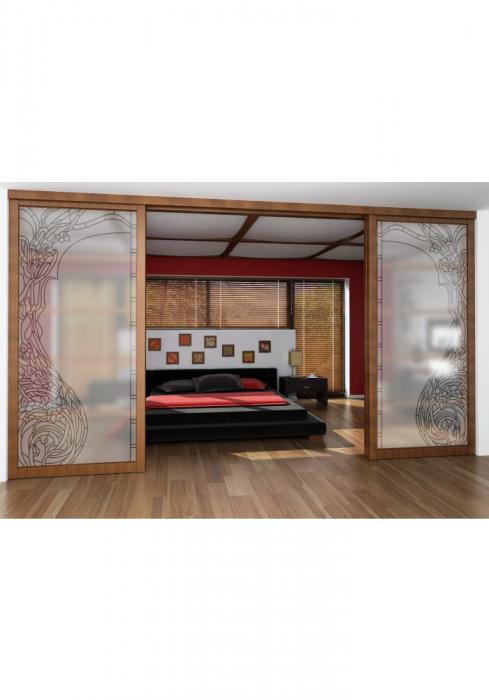 Geam Decorativ Usa Interioara Model ELLE 1