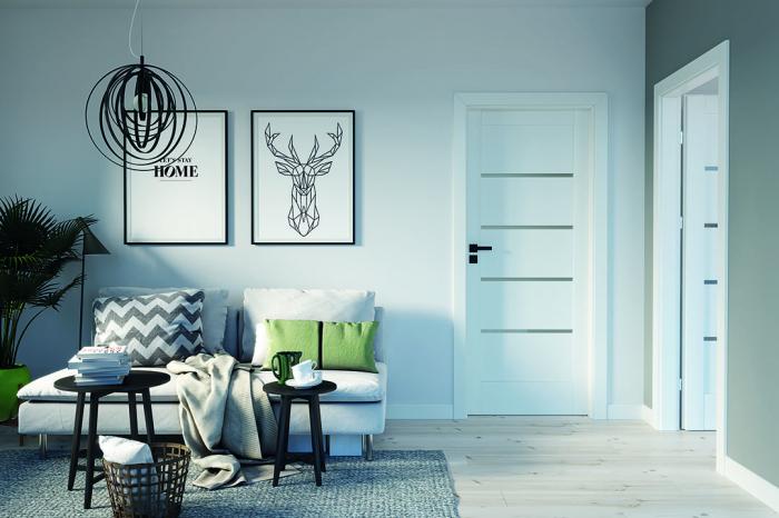 Foaie Usa Porta Doors Verte HOME Model G 1