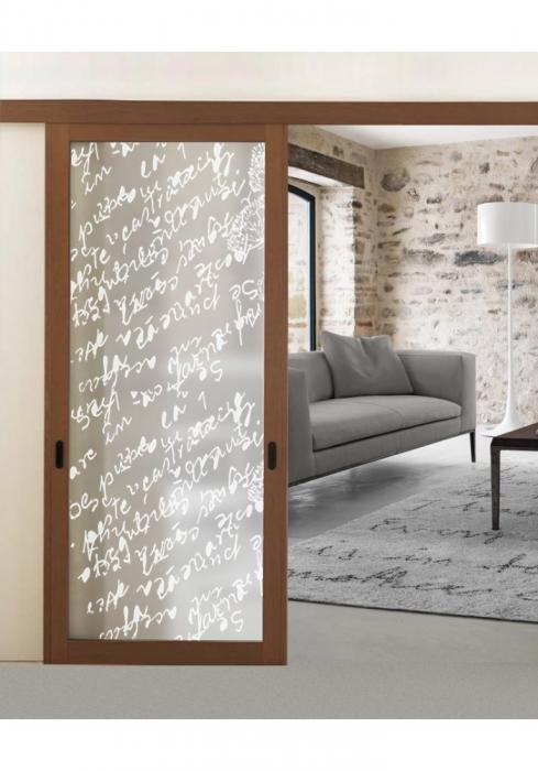 Geam Decorativ Usa Interioara Model ALPHA 0
