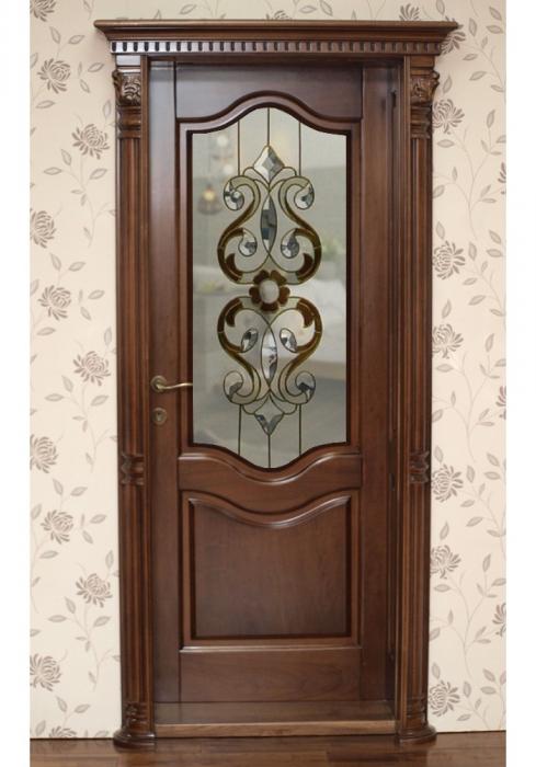 Geam Decorativ Usa Interioara Model CRISTAL 11 [2]