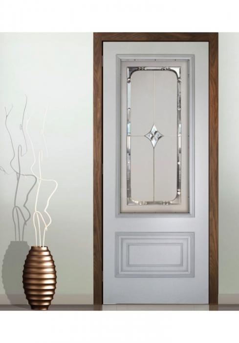 Geam Decorativ Usa Interioara Model CRISTAL 5 0