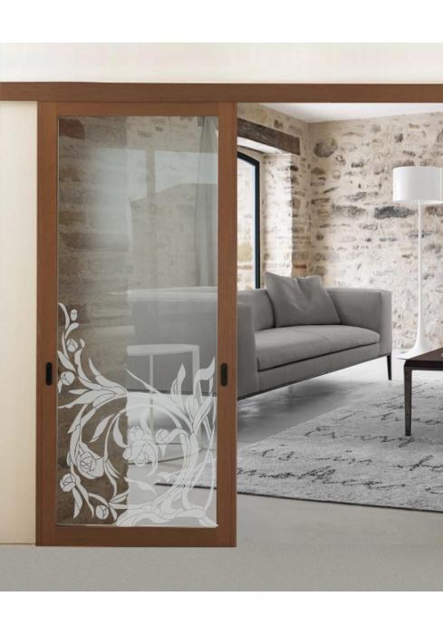 Geam Decorativ Usa Interioara Model TOSCANA S [0]