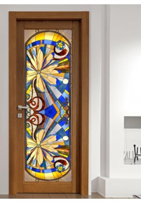 Geam Decorativ Usa Interioara Model GEMINI 0