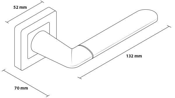 Mâner LINE Crom-Nichel 6