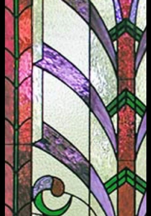 Geam Decorativ Usa Interioara Model PINK LILY [1]