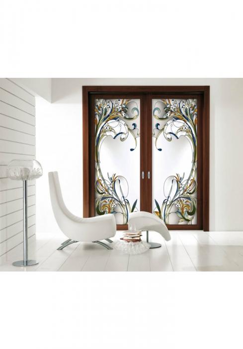Geam Decorativ Usa Interioara ModelPROVENCE 3