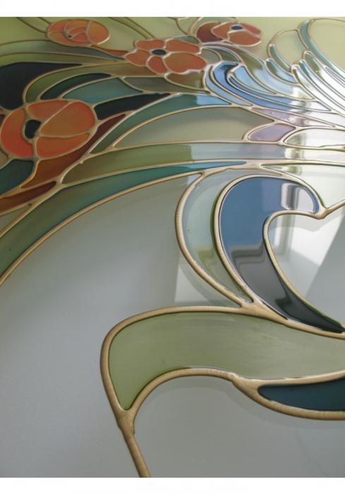Geam Decorativ Usa Interioara ModelPROVENCE 4