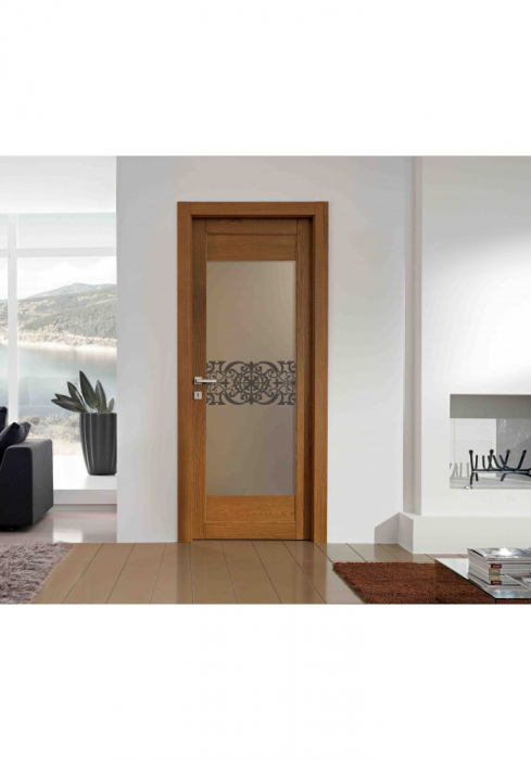Geam Decorativ Usa Interioara Model REGENCY ORIENTAL 1