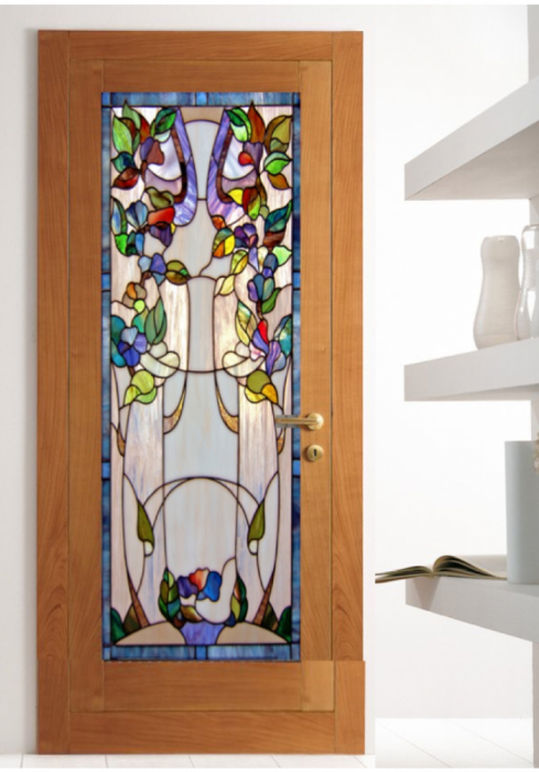 Geam Decorativ Usa Interioara Model ROMANTIC [0]