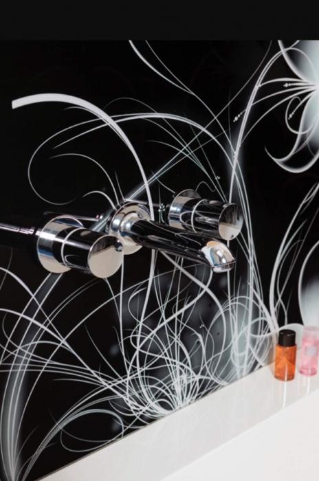 Sticla Colorata Vopsita Model GLAMOUR [0]
