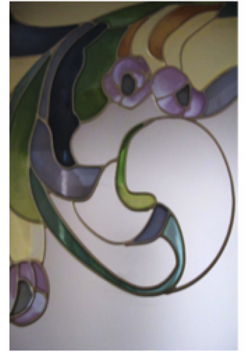 Geam Decorativ Usa Interioara Model TOSCANA 4