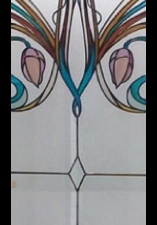 Geam Decorativ Usa Interioara Model AIR1