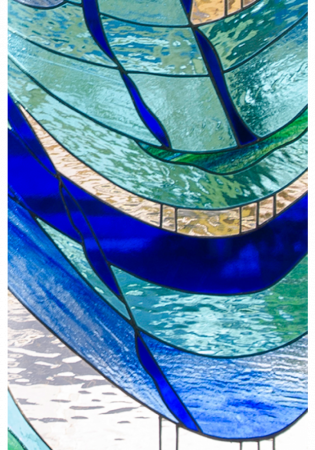 Geam Decorativ Usa Interioara Model PURPLE ART [1]