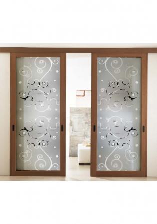 Geam Decorativ Usa Interioara Model BEVELS1